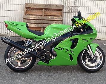 Amazon.com: Green Body Cowling For Kawasaki Ninja ZX7R Parts ...