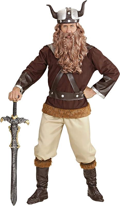 WIDMANN 3237T Disfraz de Vikingo para Adultos, 54: Amazon.es ...