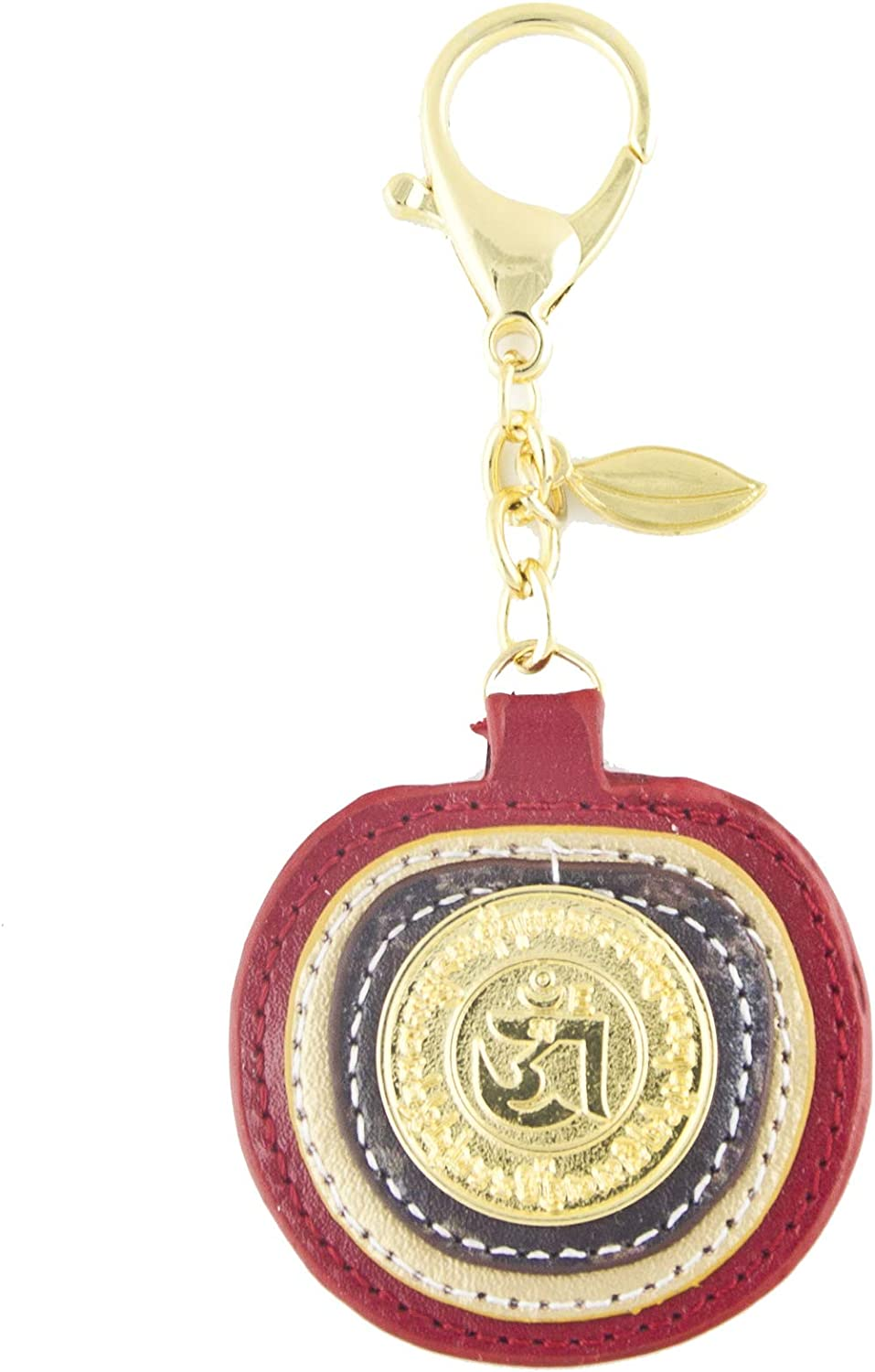 Feng Shui Apple Peace Keychain Amulet