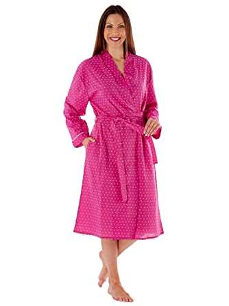 Women s Summer 115cm Kimono Bath Robe Lightweight Dressing Gown Wrap 12 to  24  Amazon.co.uk  Clothing 4f3c2499b