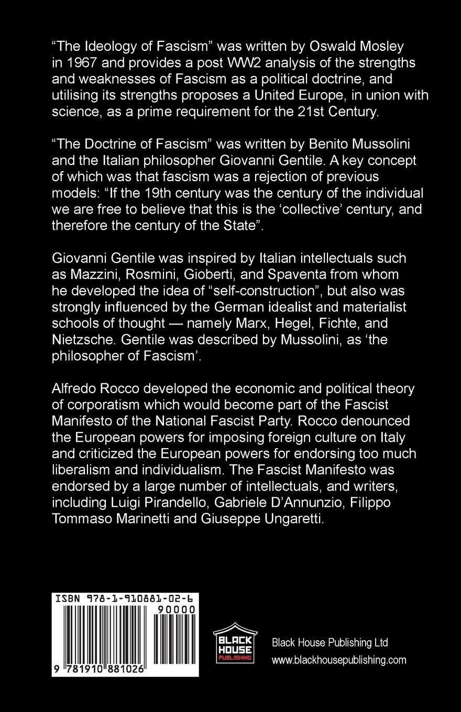 the doctrine of fascism citation