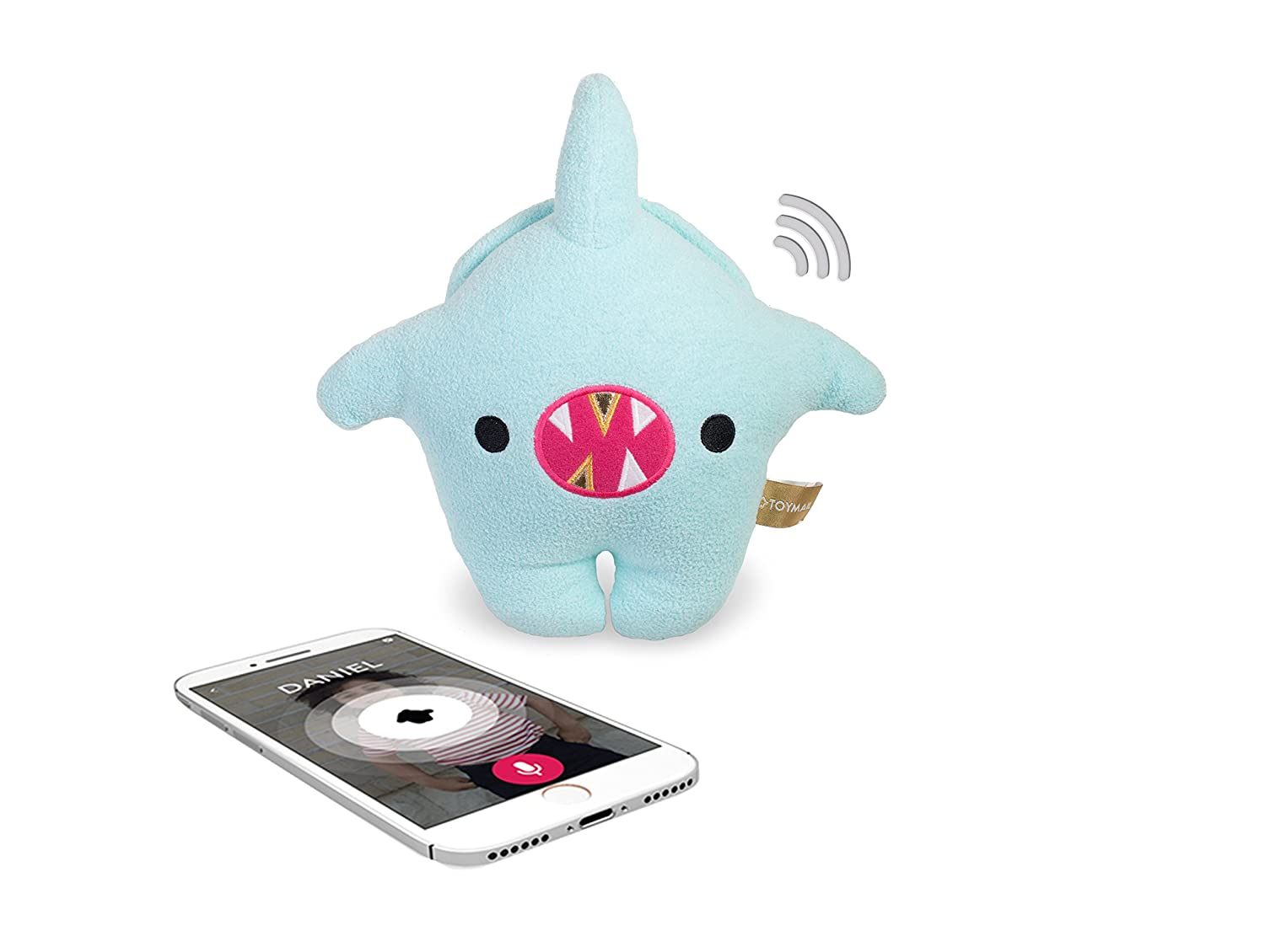 Toymail Talkie Shark Lets You Send Voice Messages from Your Phone (2-Way Phone to Toy)