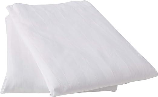 Duvet -Juego de funda nórdica para 2 almohadas , 300 hilos, blanco ...