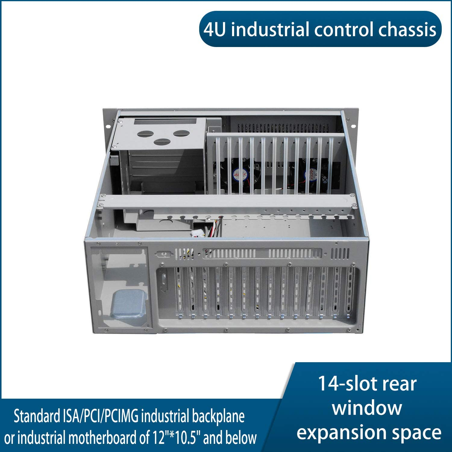 JINDIAN 4U Industrial Control Chassis Industrial Control Chassis Empty case