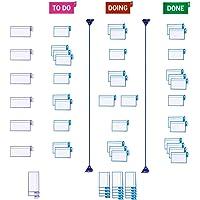 PATboard Kit Básico para Tablero Scrum y Tablero Kanban - Para Vidrio