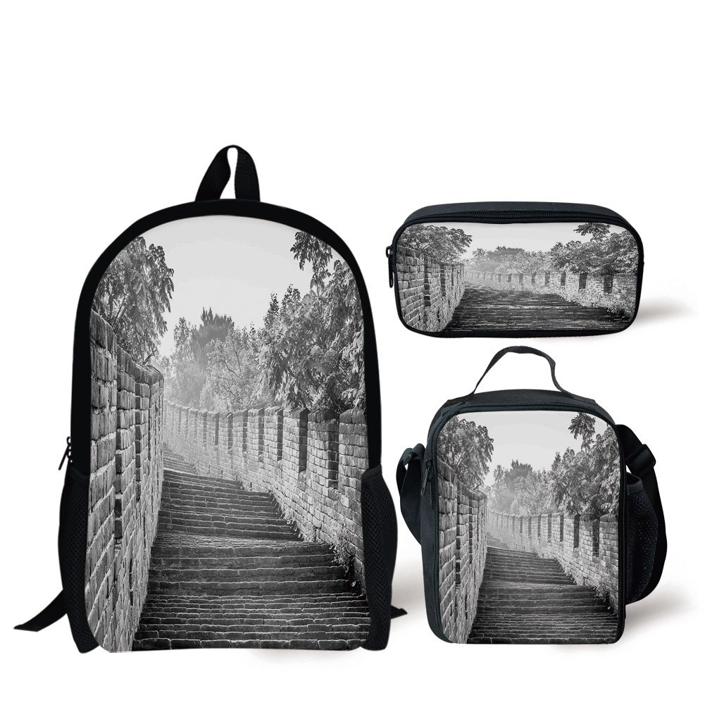 c5967262af2c Amazon.com: iPrint School Lunch Pen,Great Wall of China,Black and ...