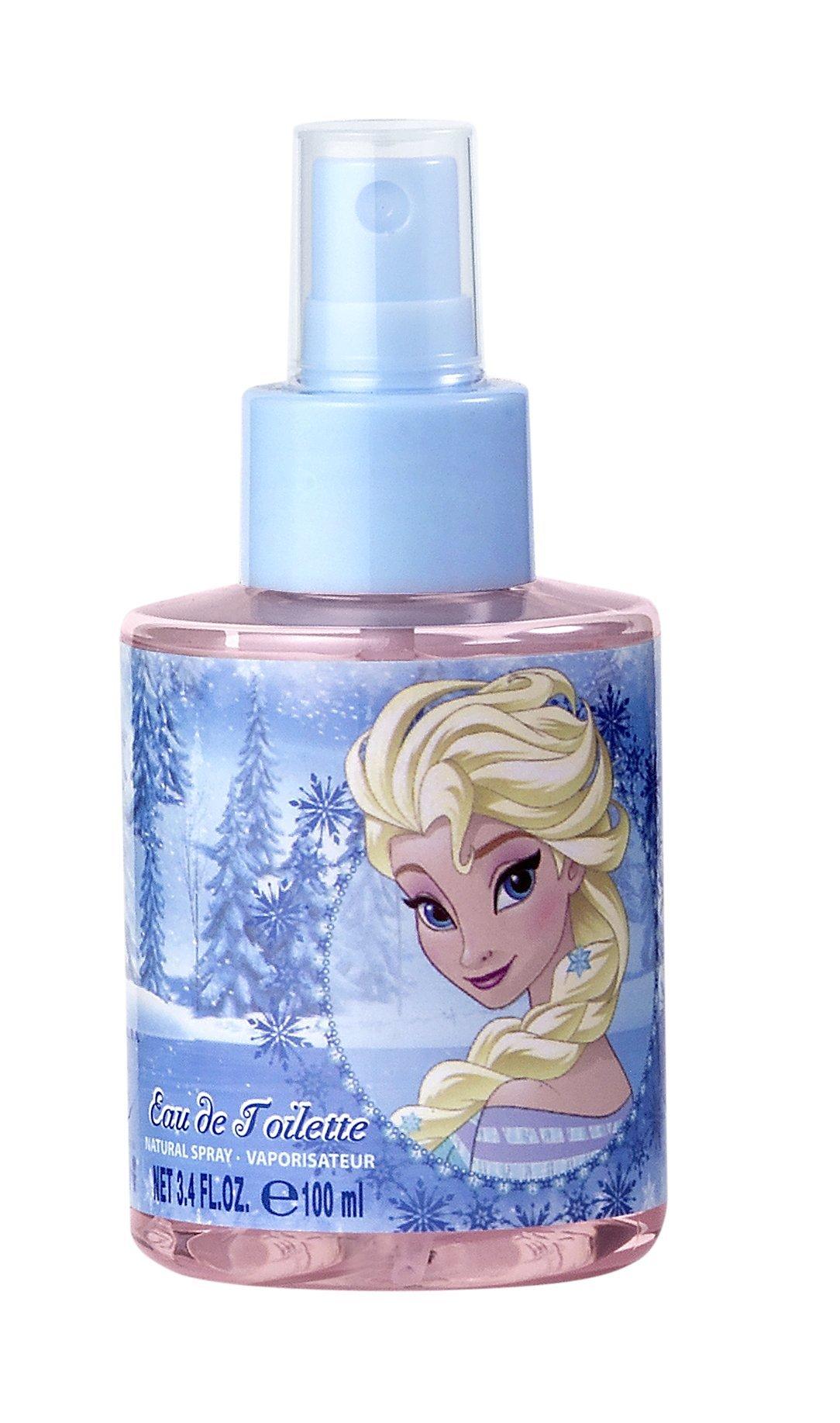 Disney Frozen 3D Figure Elsa for Kids Eau de Toilette Spray, 3.4 Ounce by Disney (Image #3)
