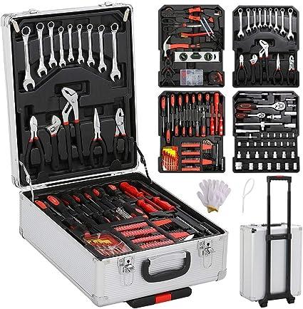 yahee 799 tlg Caja de herramientas con maleta de herramientas de ...