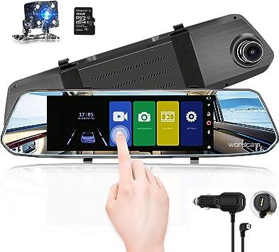Set Film Hydrophobe Rearview Mirror antipluie Conduite s/écuritaire Autocollants Anti-Rayures Film imperm/éable Voiture Miroir heacker 4PCS