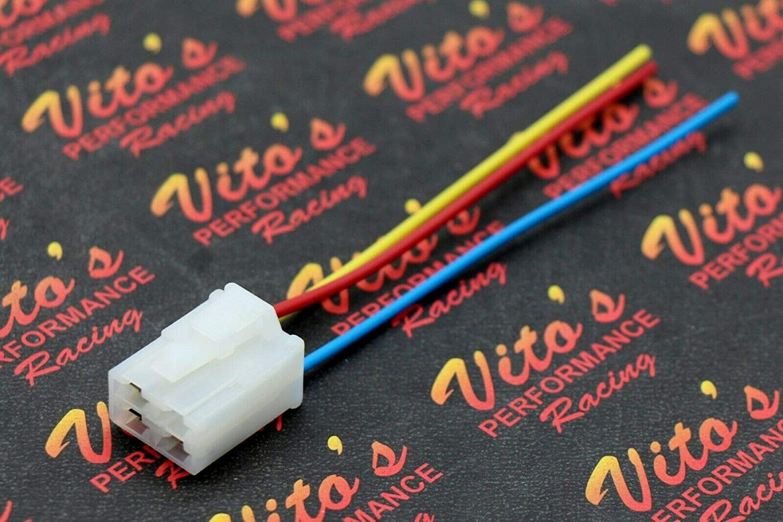 Amazon.com: Plug Repair Kit Starter Solenoid Relay Wiring ... on