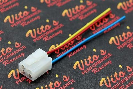 Plug Repair Kit Starter Solenoid Relay Wiring Harness Yamaha ... on