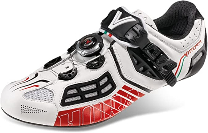 Amazon.com: VITTORIA Hora Evo Zapatillas de ciclismo para ...