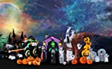 SEASONBLOW 8 Ft Halloween Inflatable Witch Ghost