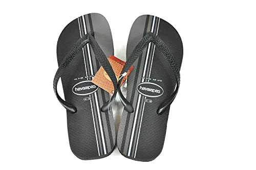 b5082e1c4265 Image Unavailable. Image not available for. Color  Havaianas Top Basic Black  Size EU 47 48 ...