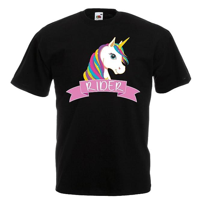 Motiv//Spruch Einhörner Damen T-Shirt