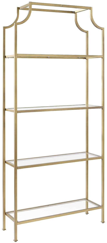 Amazon.com: Crosley Furniture CF6101-GL Aimee Etagere Bookcase ...