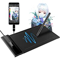 VEIKK S640 V2 Digital Graphics Drawing Tablet 6x4 Inch Art Design Tablet Compatible with OSU Wins and Mac /Linux/Android…