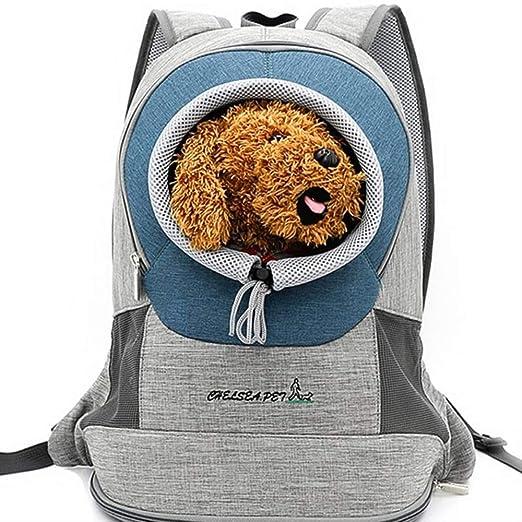 PET HOUND Transportin Carrito Perro 2 en 1 Mochila Carrito Mascotas transportin Gato Bolsa de Malla de Seguridad Mascota Perro Gato Bicicleta Senderismo Suministros 37x27x22: Amazon.es: Productos para mascotas