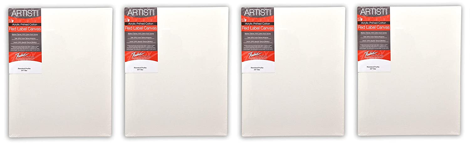 30 By 40 Inches Fredrix 5036 Red Label Stretched Canvas