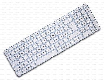 X-Comp Teclado blanco sin marco para HP Pavilion G6-2000 G6 ...