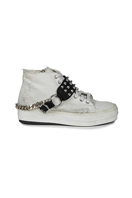 online store fe4cd 0107a ANIYE BY - White Sneaker: Amazon.it: Scarpe e borse