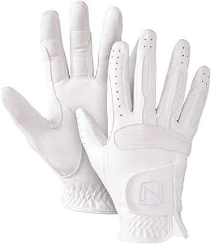 Noble Outfitters Show Ready Leather Glove White 8