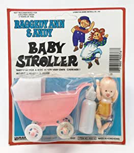 Amazon.com: Raggedy Ann & Andy 1980 Baby Stroller Bottle ...