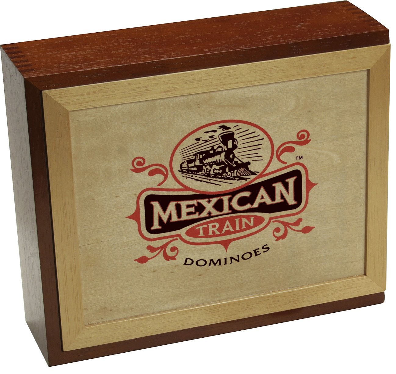 Mexican Train Dominoes by Front Porch Classics