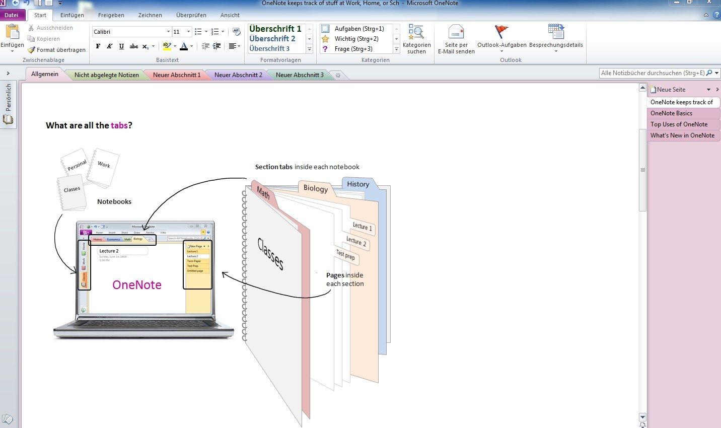 Microsoft OneNote 2010 - 1PC/1User: Amazon.de: Software