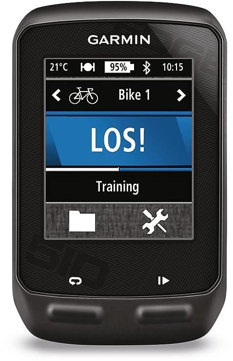 Amazon.es: Garmin Edge 510 - Navegador GPS con pulsómetro y sensor ...