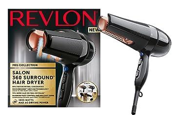 Revlon Pro Collection Salon 360 Surround Ac secador de pelo, 1800 W: Amazon.es: Belleza