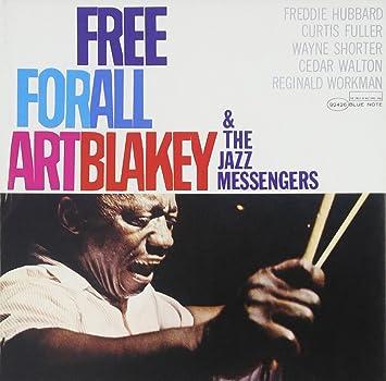 amazon free for all art blakey jazz messengers モダンジャズ