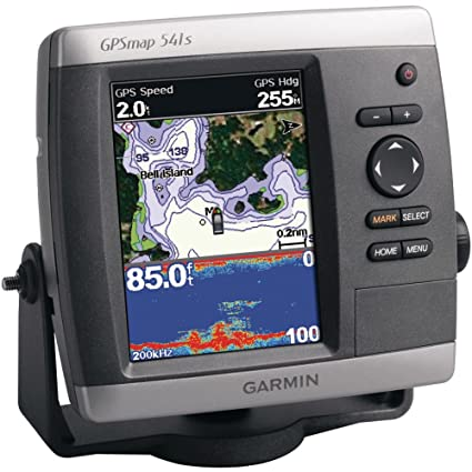 Garmin GPSMAP 541s 5 Inch Waterproof Marine GPS And Chartplotter With Sounder Discontinued By