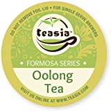 Teasia All Natural Oolong Tea, 36-count 2.0 COMPATIBLE K-Cup Hot Tea Iced Tea Capsules Tea Pods for Keurig Brewers