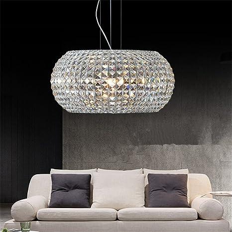 CUICAN Moderno Lampadari di cristallo Semplice Circolare Lampada ...