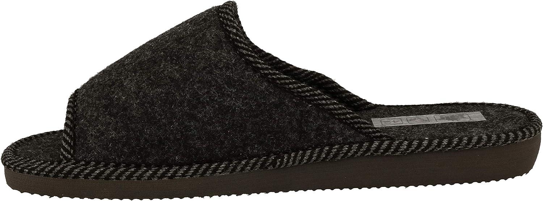 nat/ürlich Handarbeit RBJ leather shoes .Herren Natur Wollfilz Pantoffeln f/ür Wohlgef/ühl atmungsaktiv warm Qualit/ät