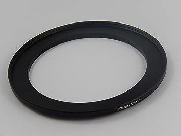Original VHBW ® filtro adaptador Step Up para 67mm a 77mm