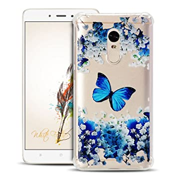 Anfire Funda Xiaomi Redmi Note 4 Carcasa Transparente y Suave Case Flexible de Silicona Gel TPU Cover [Esquinas Reforzadas] Protección Gota y Ultra ...