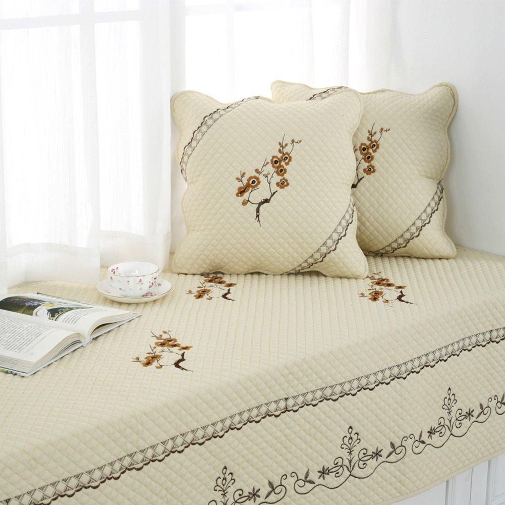 Fabric window cushion/european-style slip sofa cushions/[fashion],four seasons,sofa cushion/sofa towel/bay window balcony pad-A 90x160cm(35x63inch)