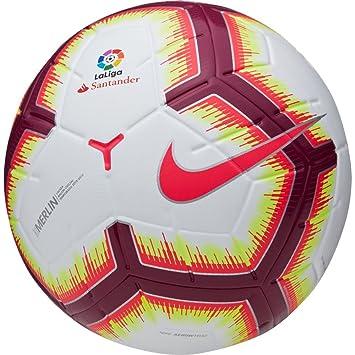 ead909b696 Nike 2018-2019 MERLIN LA LIGA OFFICIAL MATCH BALL Size 5  Amazon.co ...