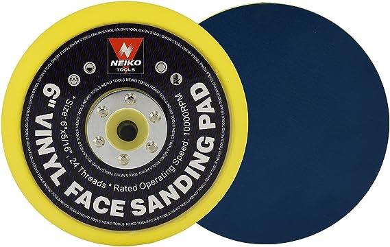"6/"" x 5//16/"" x 24T CAL-HAWK 6/"" PRO Dual Action Orbital 10k RPM D//A Sanding Pad"