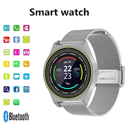 Amazon.com: Reloj inteligente con Bluetooth, monitor de ...