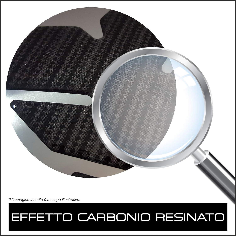 PROTEGGI SERBATOIO UNIVERSALE RESINATO/_ UNIVERSAL TANK PAD/_CGSCP EFFETTO CARBONIO