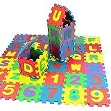 Puzzle,Zolimx 36Pcs Number Alphabet Numbers Jigsaw Puzzle Play Mat Foam Maths Kids baby Educational Learing Developmental TrainingToy