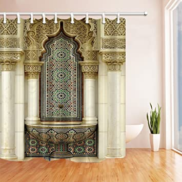 nyngei europäischen Building Marokkanische Architektur Duschvorhang ...