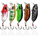 Sougayilang Minnow Fishing Lures Crankbaits Set Fishing Hard Baits Swimbaits Boat Topwater Lures For Trout Bass Perch Fishing
