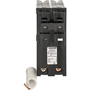Square D by Schneider Electric HOM220CAFIC Homeline 20 Amp Two-Pole CAFCI Circuit Breaker,