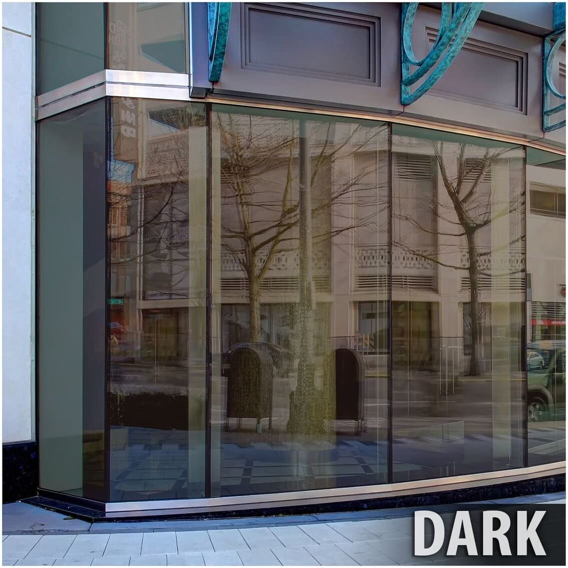 BDF BRZ20 Window Film Bronze Reflective Sun Control and Privacy Dark – 60in X 100ft