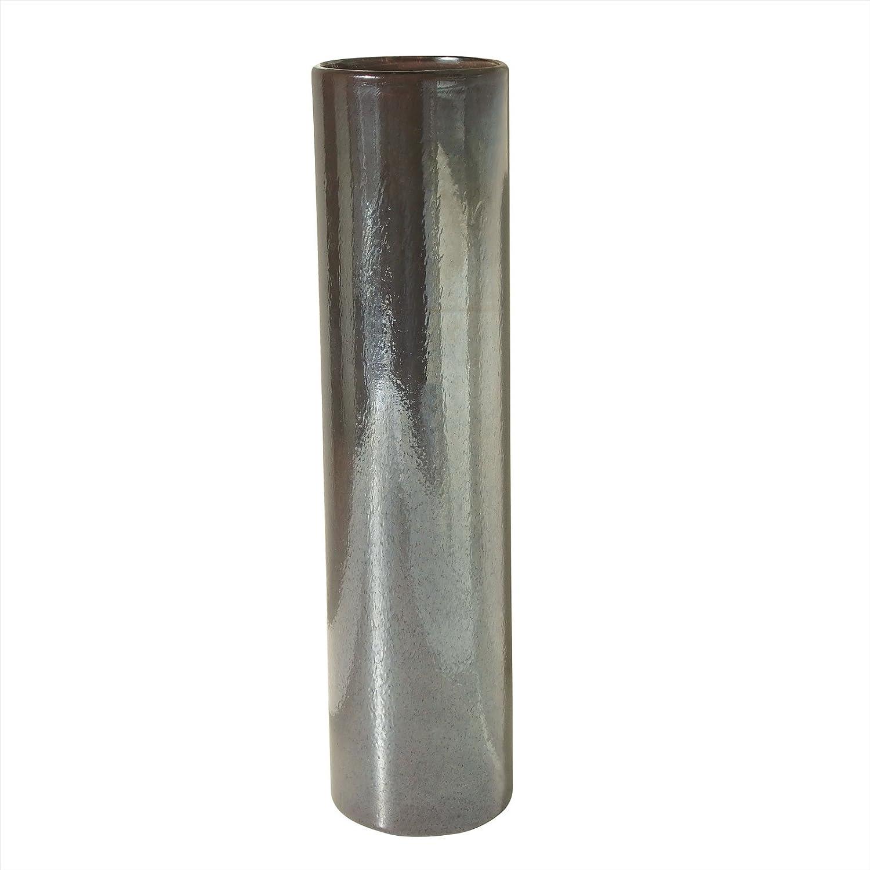 Lazy Susan 787153 Tarnished Metallic Pillar Vase, Small by Lazy Susan [並行輸入品] B00FZPHSX2