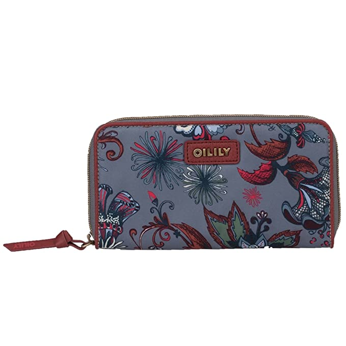 Oilily Sea of Flowers - Cartera y monedero de viaje: Amazon.es: Zapatos y complementos